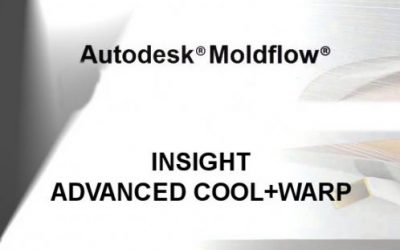 Autodesk Moldflow Advanced Cool + Warp for injection molding