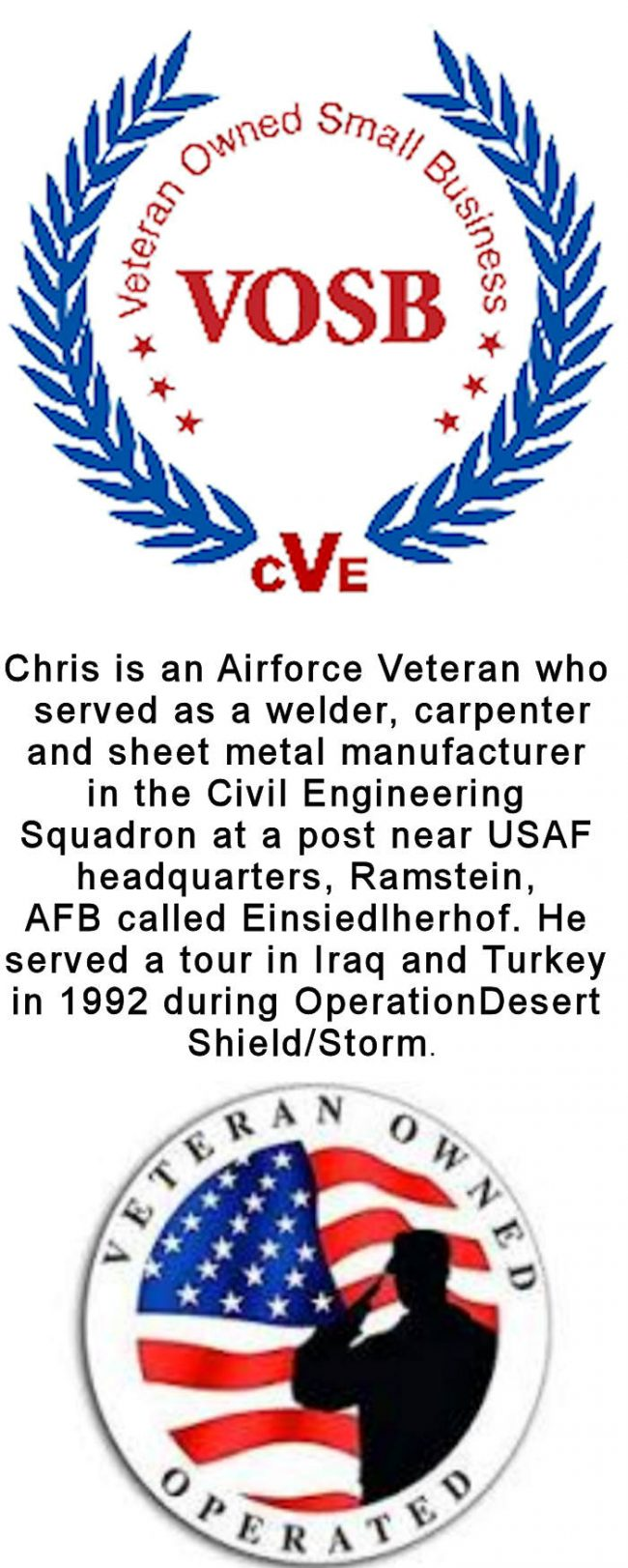 Bozilla Corp certified Veteran owned business