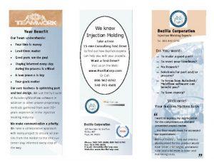 Bozilla Corporation brochure